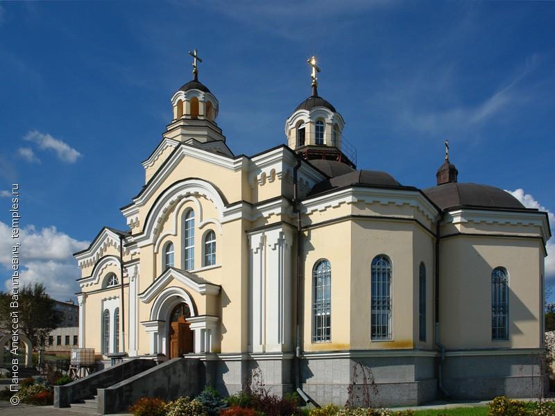 Храм преподобного Амвросия Оптинского города Кировграда